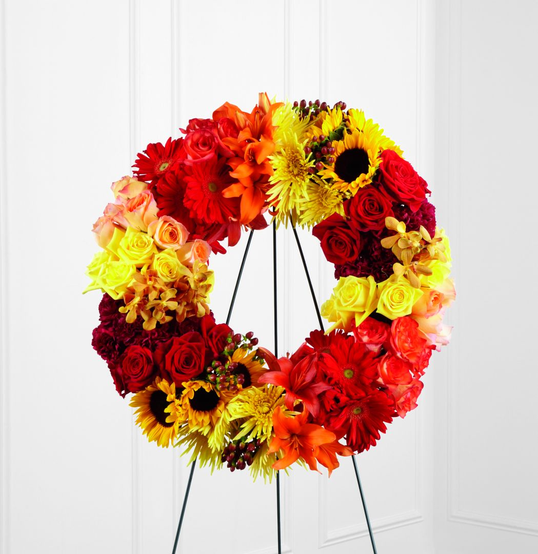 The FTD Rural Beauty Wreath