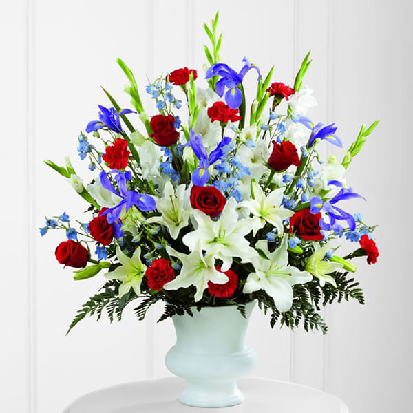 The FTD Cherished Farewell Arrangement