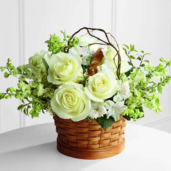 The FTD Peaceful Garden Basket