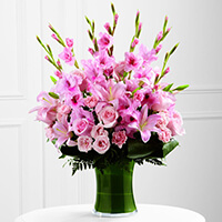 The FTD Lovely Tribute Bouquet